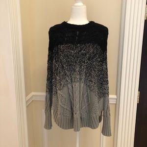 Michael Kors Color Block Sweater/Poncho